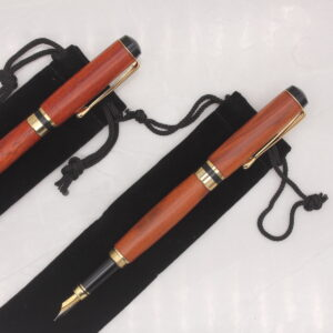 Handmade Wood Fountaion Pen - Woodcraft by Owen