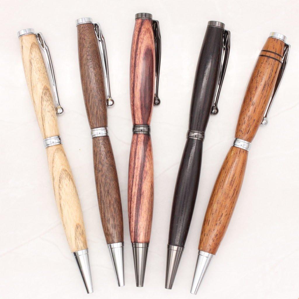 Wider body Slimline Pens Woodcraft By Owen