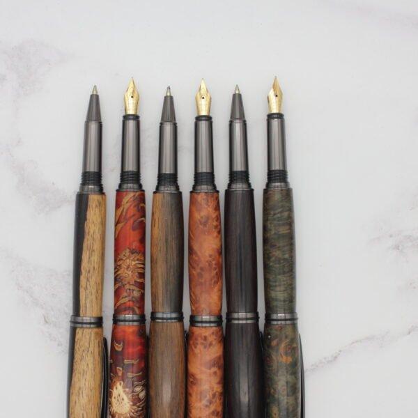 Junior Gentleman Desk Pen - Woodcraft by Owen